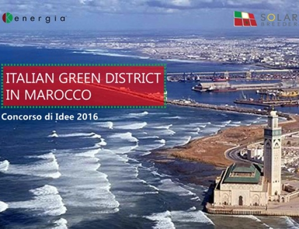 Al via 'Italian Green District in Marocco' del Gruppo Kenergia